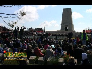 View our ANZAC Day at Gallipoli - Australian involvement at ANZAC Cove and Lone Pine Memorial. [14.4 Kb 1:05 mins]