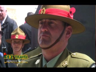 View our ANZAC Day at Gallipoli - New Zealand involvement at ANZAC Cove and Chunuk Bair Memorial. [21.1 Kb 1:34 mins]