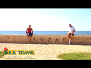 View our Kylie takes a pilgrimage to Gallipoli to tour the battlefields where the ANZACs fought with the British against the Turkish in World War 1, better known as the Gentlemans War. [2:02]